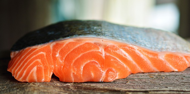 Succulent, delicious, salmon fillet