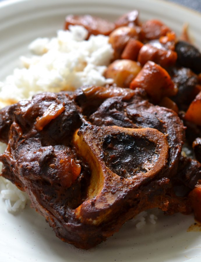 Braised Elk Shanks