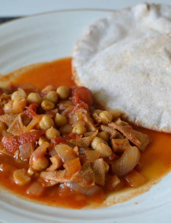 Egyptian Tripe Stew (Kersha)