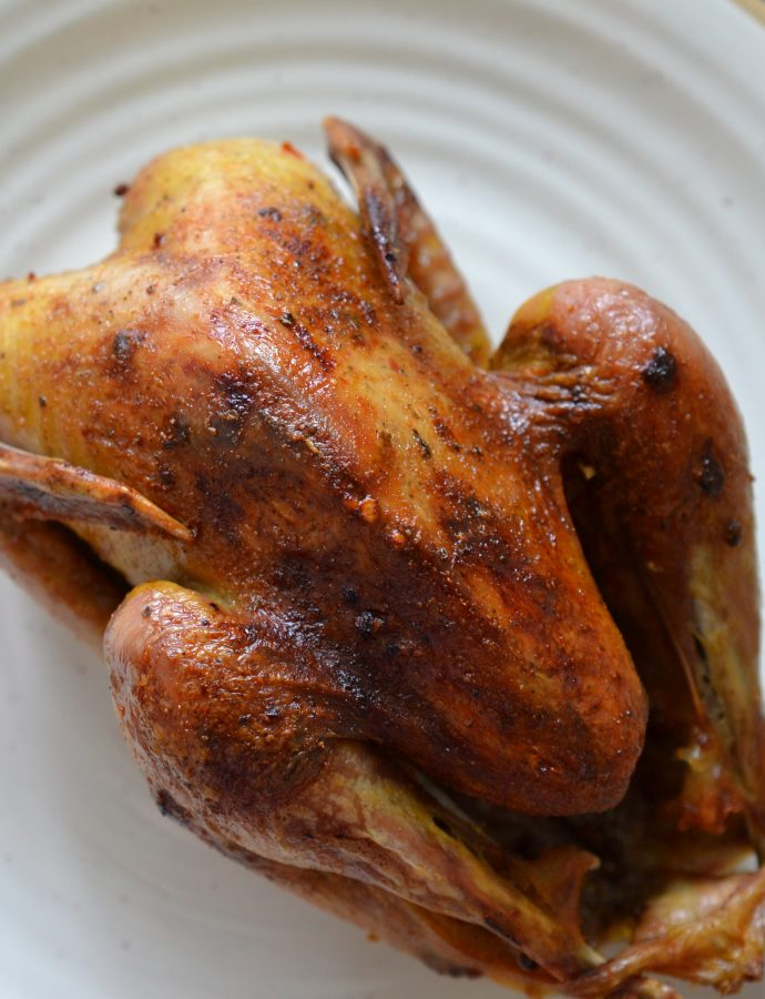 Easy Roasted Pheasant