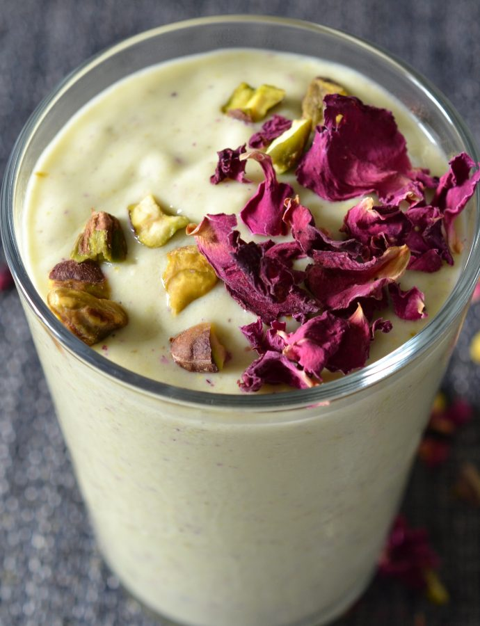 Pistachio Rose Smoothie