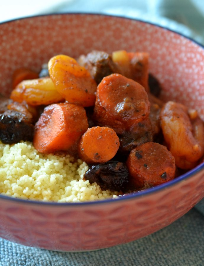 Camel Tagine With Couscous