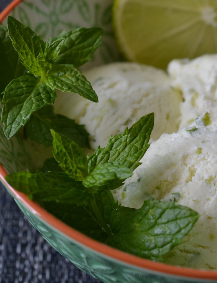 Lime Mint Ice-Cream