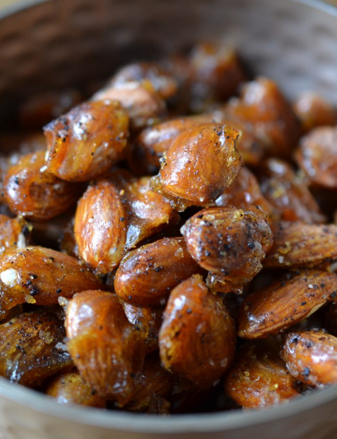 Chipotle Candied Almonds