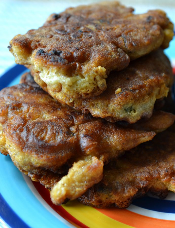 Anchovy Fritters (Fried)