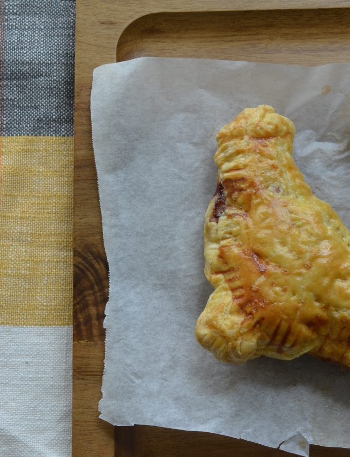 Marmite and Cheddar Turnovers