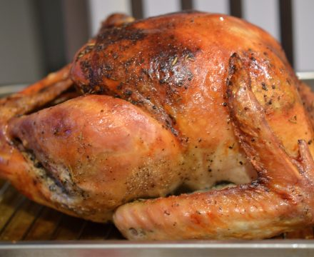 Dry brined Roast Turkey